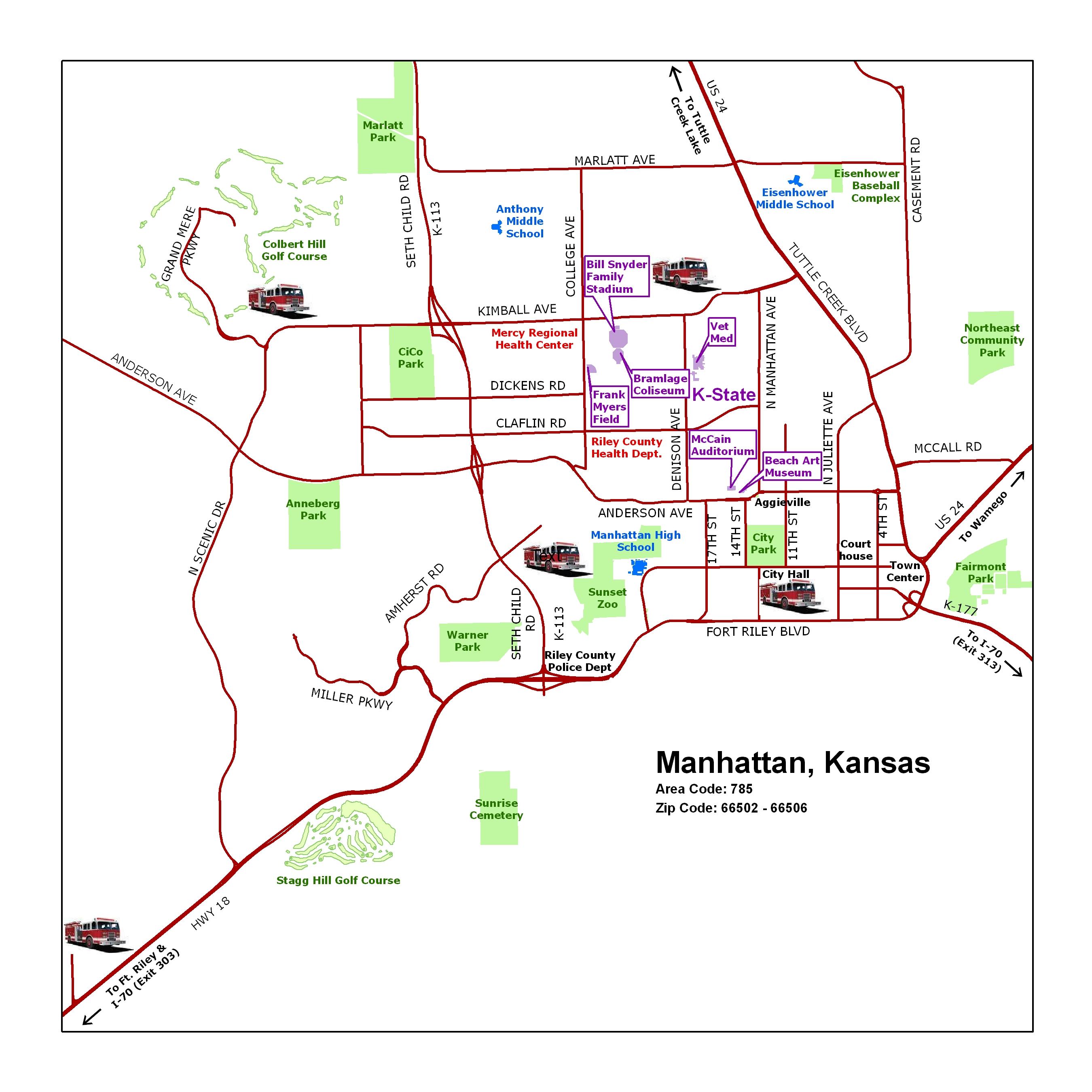 manhattan ks official website