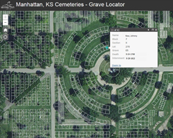 Cemetery Mapping | Manhattan, KS - Official Website on