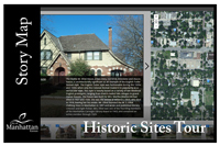 Historic Sites Tour map