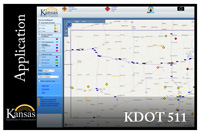 KDOT 511 Road Conditions Map
