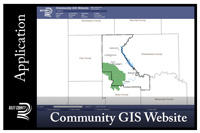 Riley County GIS website