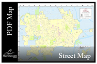 Download City of Manhattan Street map