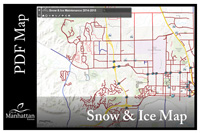 Snow and Ice Map