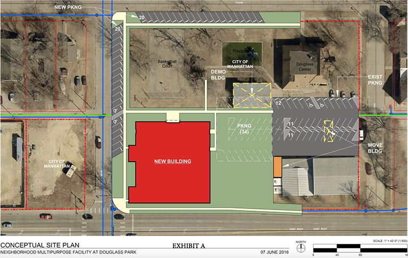 Proposed South East Neighborhood Recreation Center