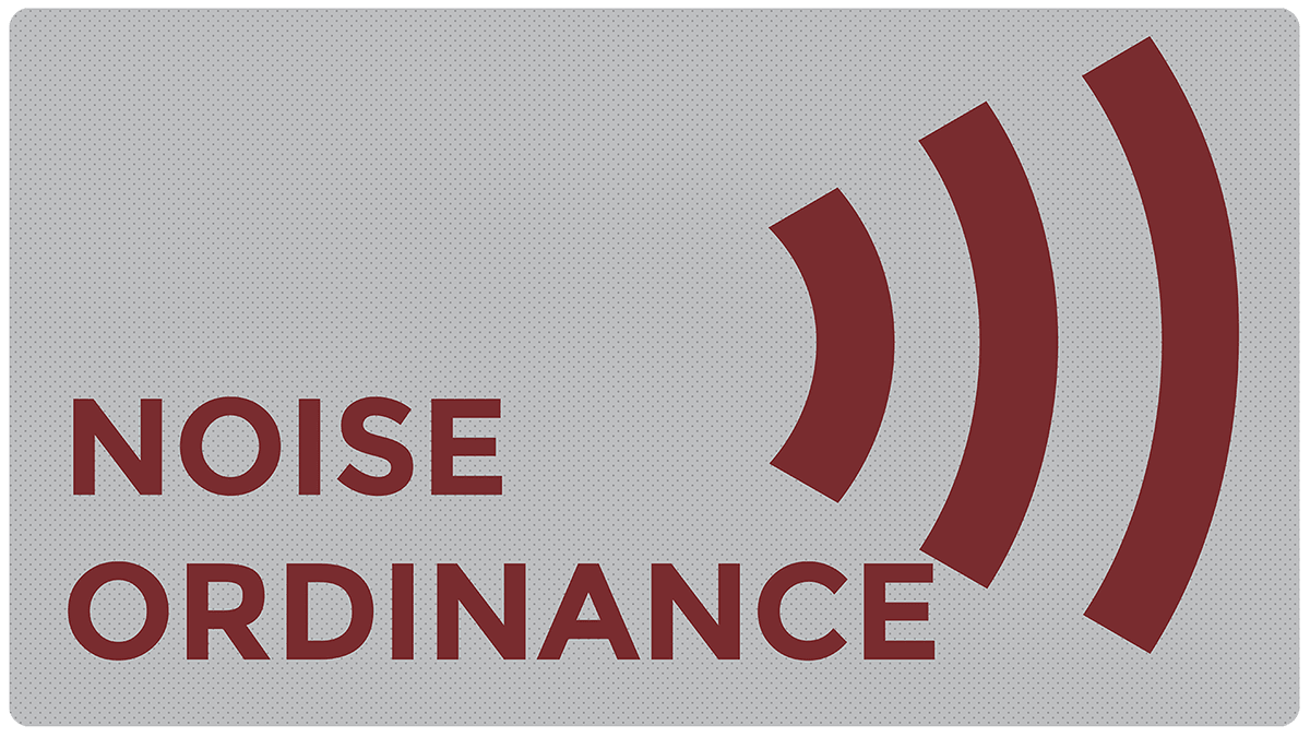 Noise Ordinance
