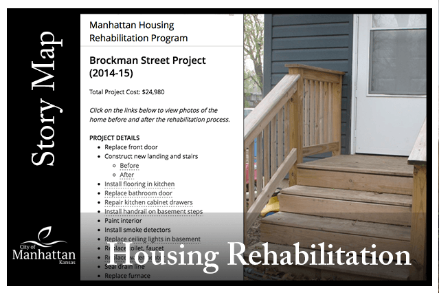 Housing Rehabilitation Program Story Map