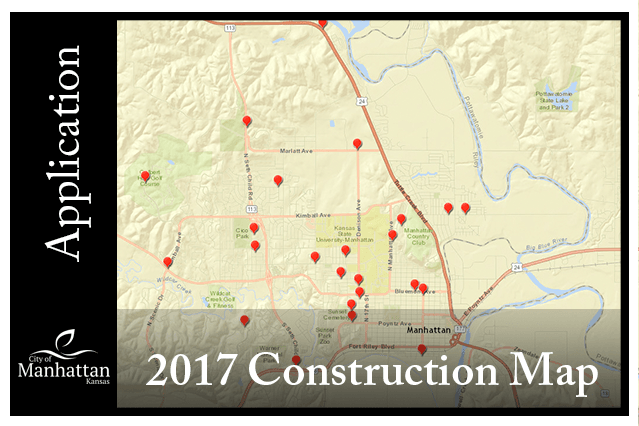 2017 Construction Map