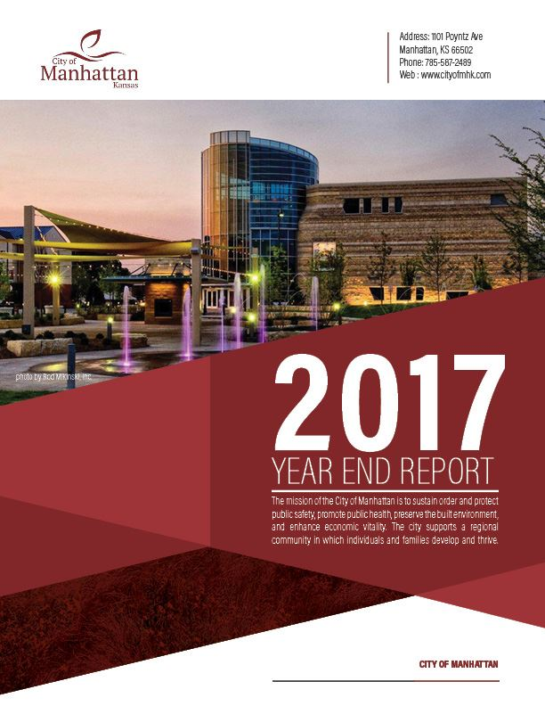 2017 report cover imgage featuring the Flint Hills Discovery Center by Rod Mikinski
