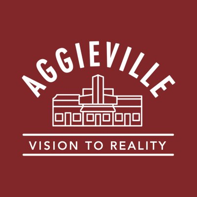 aggieville vision to reality logo