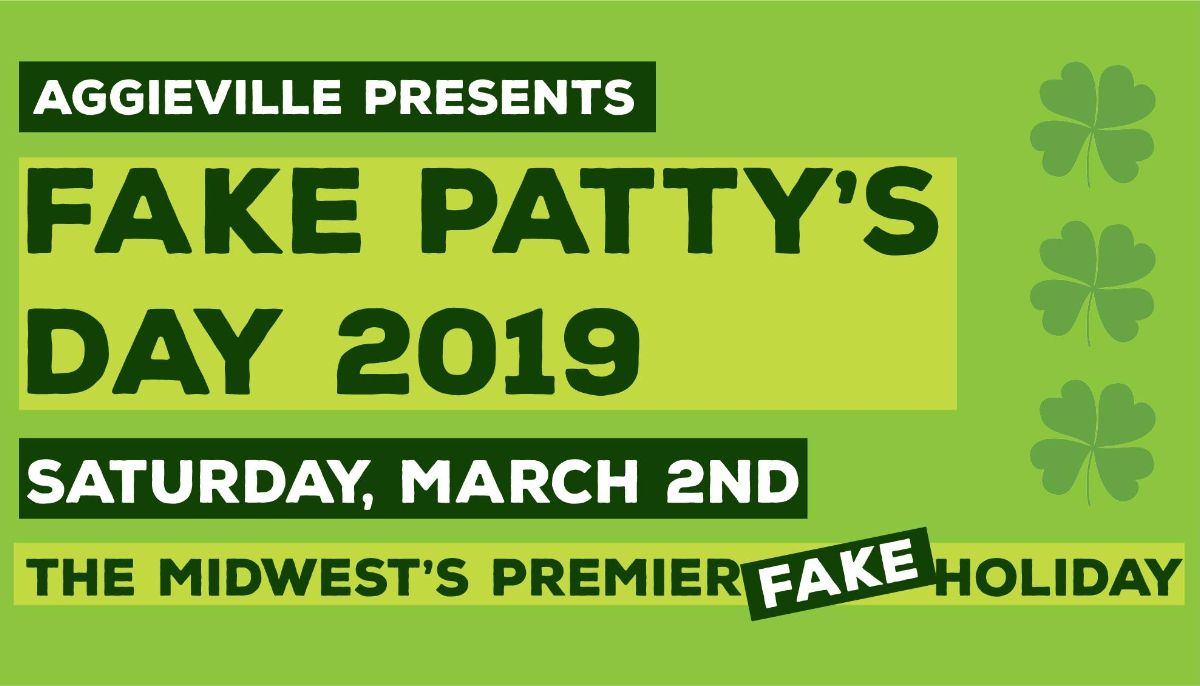 graphic for Fake Patty&#39s Day