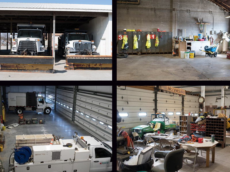 photos of existing maintenance facilities