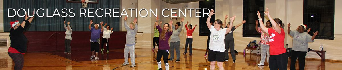 photo of people exercising at the Douglass Community Center