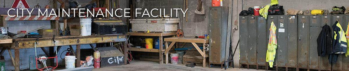 photo of an existing maintenance facility