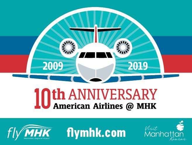 10th anniversary logo and advertisement
