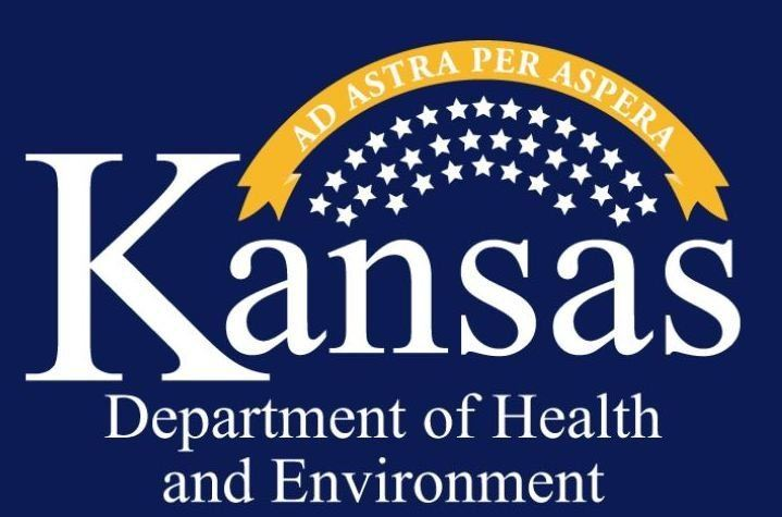 logo for the Kansas Department of Health and Environment