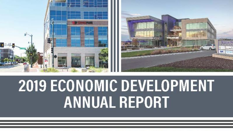 cover image for 2019 economic development report