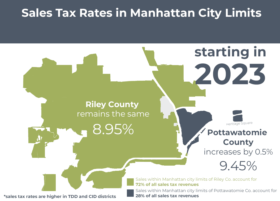 map of manhattan sales tax info passed