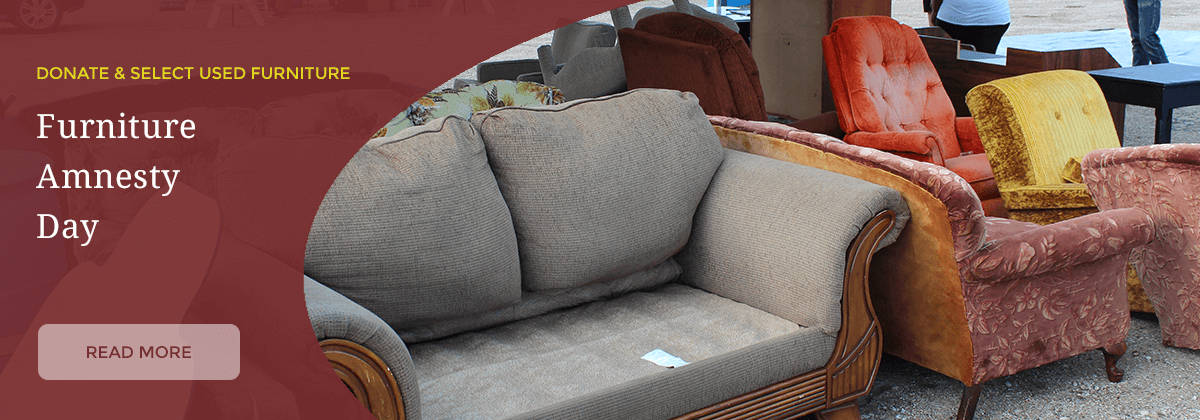 Furniture Amnesty Day is July 29
