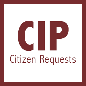 Citizen capital improvement project requests