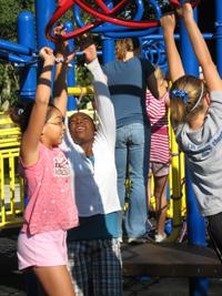 New Playground Equipment in City Park